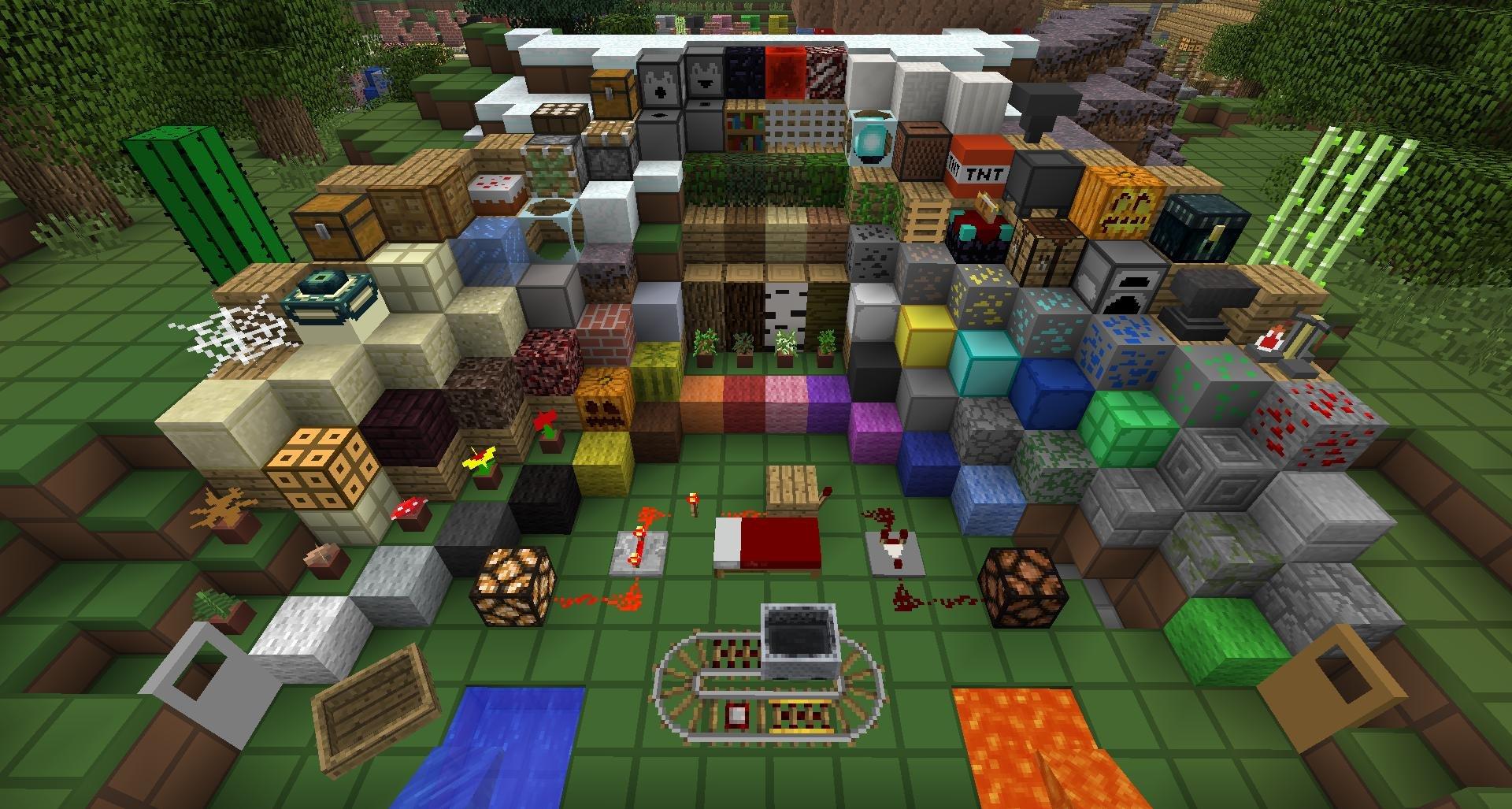 Текстуры для minecraft с разрешением 128x128